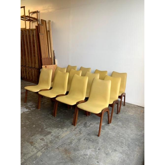 Chet Beardsley Dining Chairs- Set of 12 by VintageOnPoint