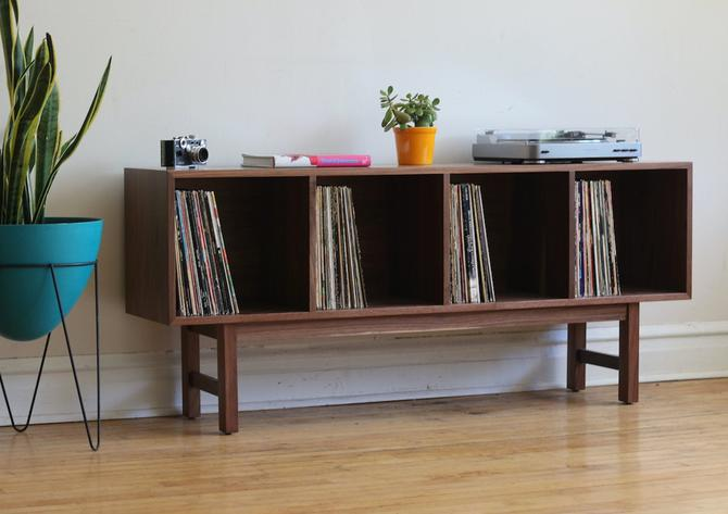 Handmade Mid Century Modern Inspired Record Console by SharkGravy