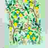 Lemon Tree Tea Towel