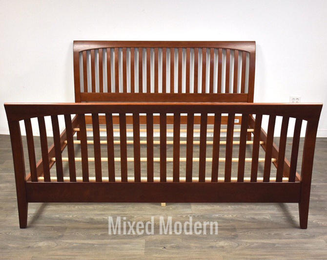 Ethan Allen American Impressions King Cherry Bed by mixedmodern1