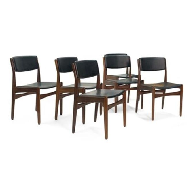 Set of 6 Frem Røjle Dining Chairs