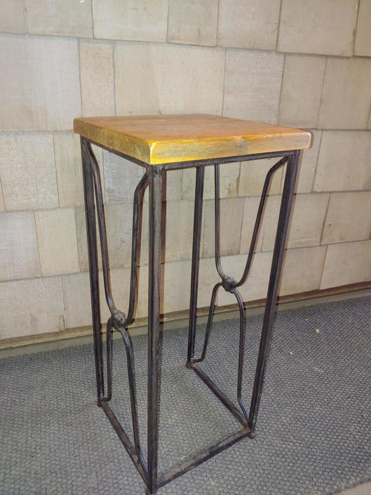 "Tea table or plant stand 26"" tall"