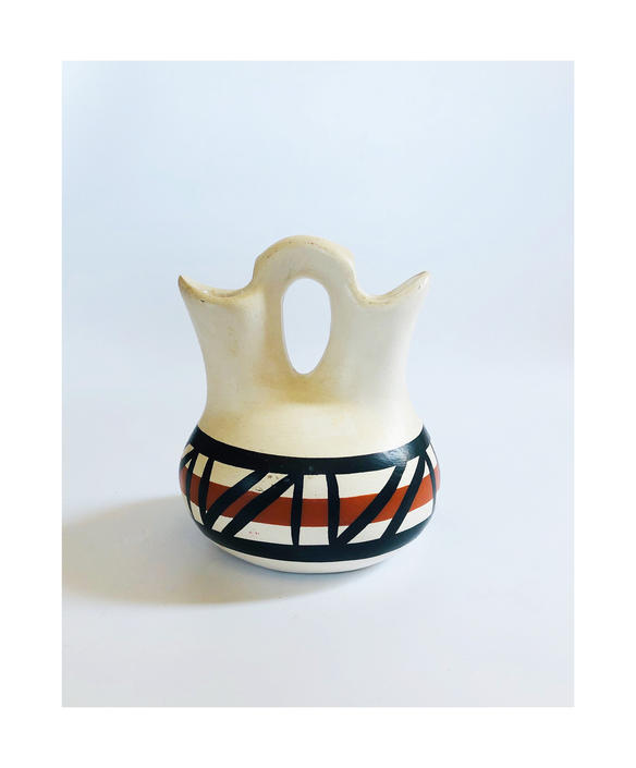 Vintage Pueblo Pottery Wedding Vase by SergeantSailor