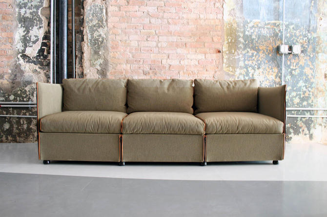 Sofa by Mario Bellini for Cassina Italy