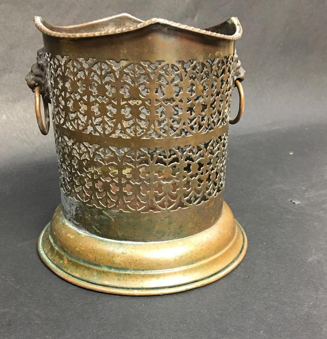 Vintage Copper Wine Caddy