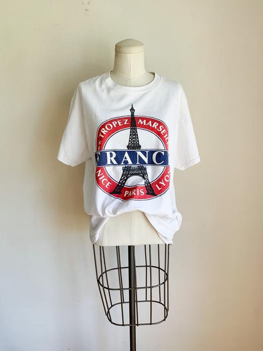 Vintage 1990s France Paris Souvenir T-shirt by MsTips