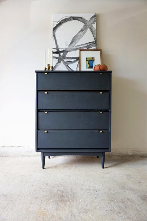 Brass Finger-Pull Dresser