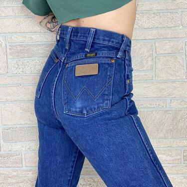 Wrangler Vintage Western Jeans / Size 27 by NoteworthyGarments