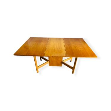 Mid-Century Modern Gate Leg Drop Leaf Table by George Nelson