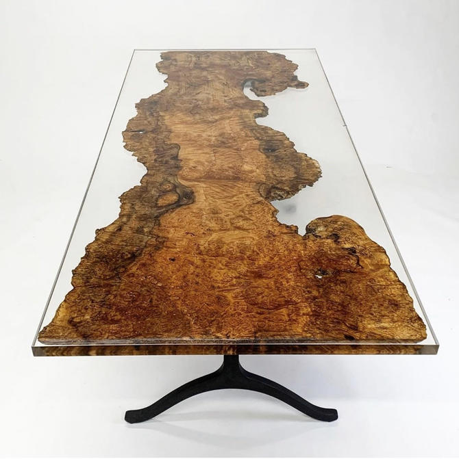 Epoxy table, epoxy river table, river table, resin table, epoxy resin, by WoodbeeWoodworks