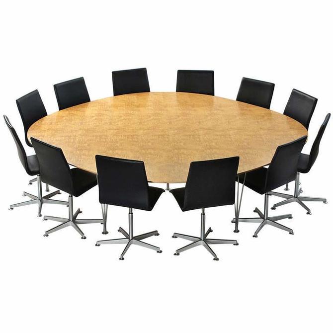 'Super Ellipse' Conference or Dining Table