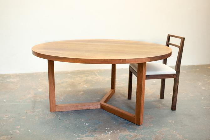 SALE - Cherry Round Dining Table by dylangrey