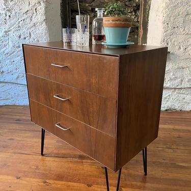 Mid century bachelors chest Danish modern chest of drawers mid century dresser by VintaDelphia