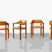 Set of 4 Rainer Daumiller Dining Chairs for Hirtshals Savvaerk