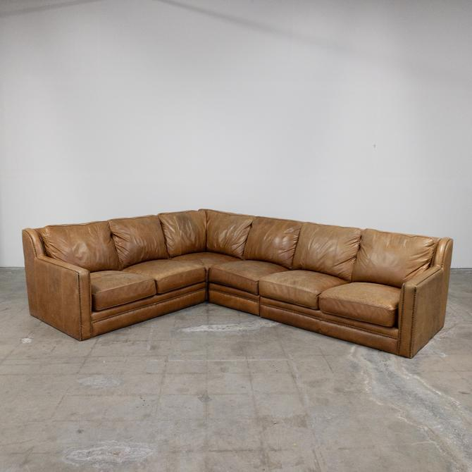 Modern Leather Sectional Sofa From