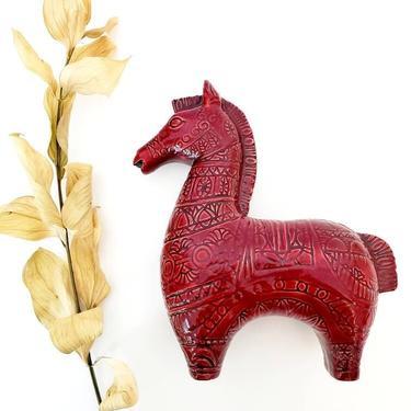Vintage Bitossi Style Ceramic Trojan Horse by pennyportland