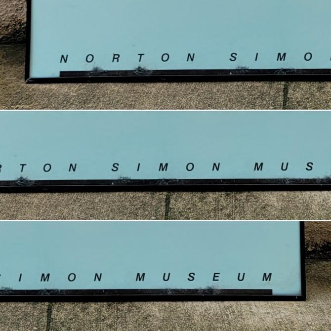 "Postmodern Kandinsky ""Green Composition"" Norton Simon Museum Poster"