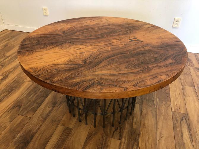 Milo Baughman Thayer Coggin Rosewood Entry table by Vintagefurnitureetc