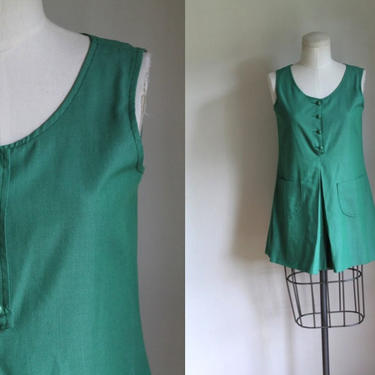 vintage 1970s official girl scout uniform dress / XS by MsTips