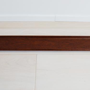 Scandinavian Modern Genuine Teak Serving Tray Bread Canoe Made in Norway by MidCentury55