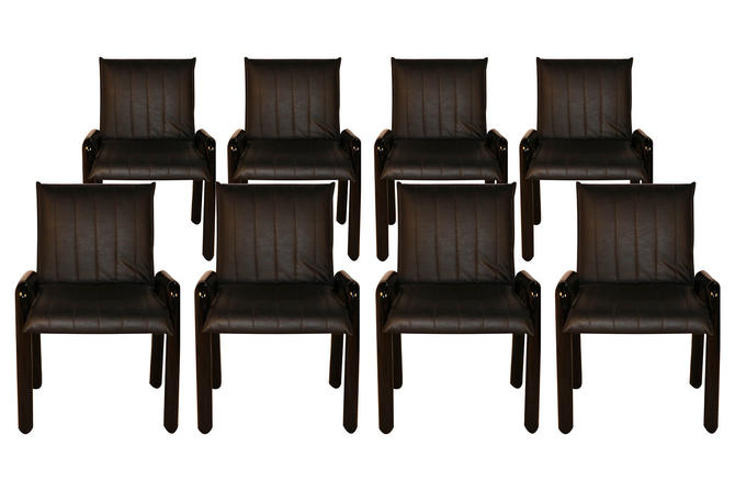 """Eight Guido Faleschini Italian """"Dilos"""" Dining Chairs By i4 Mariani For Pace by Marykaysfurniture"""