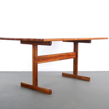 "Danish Modern Teak "" Butcher Block "" Dining Table by ABTModern"