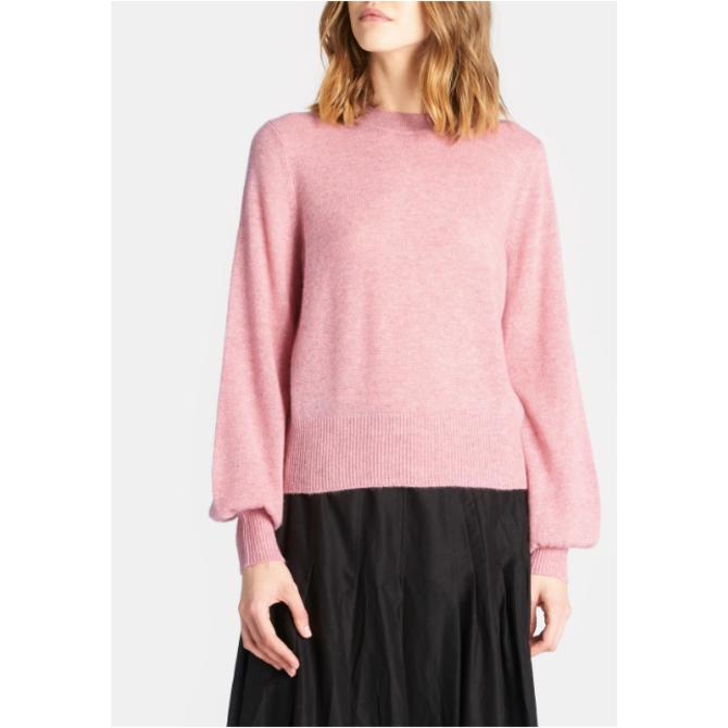 Demylee Carmen Sweater - Rose Pink