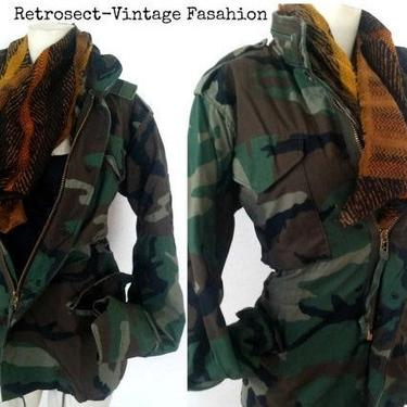 9a5c40baed248 Added on September 18, 2018. HEAVY DUTY CAMO Camouflage army green fatigue  Jacket ...