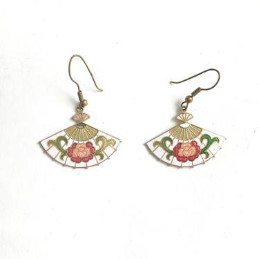 90s fan earrings by harlowandspring