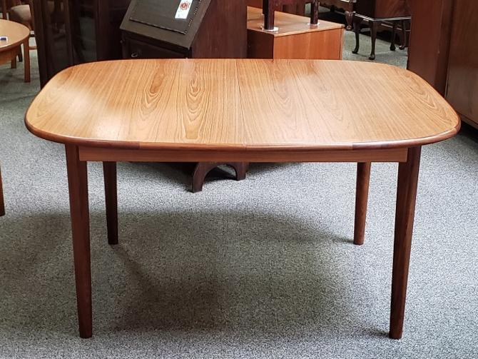 Item #DM161 Vintage Extending Teak Dining Table c.1960s
