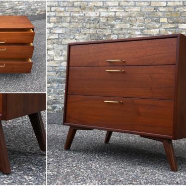 Jens Risom 3-drawer Chest – Custom Legs