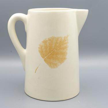 Ceramic Pitcher, Denby Energy Leaf | Vintage British Pottery Water Pitcher | Stoneware Water Jug | English Dinnerware by MostlyMidCenturySF