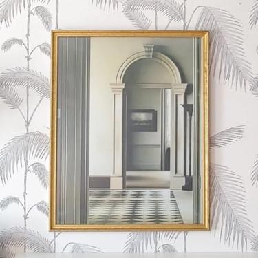 Vintage Framed Artwork, inspired by Trompe L'oeil, Architecture, Interior Design, circa 90's by DecoDiscoDecor