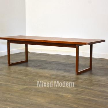 Heltborg Møbler Danish Modern Teak Coffee Table by mixedmodern1