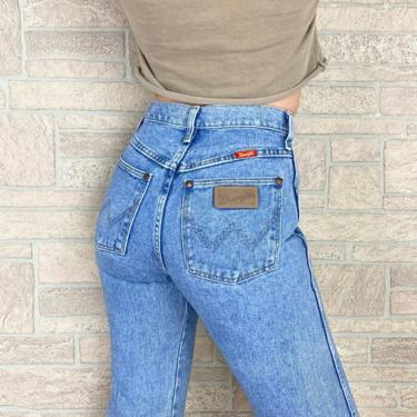 Wrangler Vintage Western Jeans / Size 24 25 by NoteworthyGarments