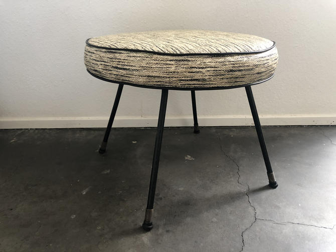 California Modern Low Iron Stool/Footstool by Moderndesign20