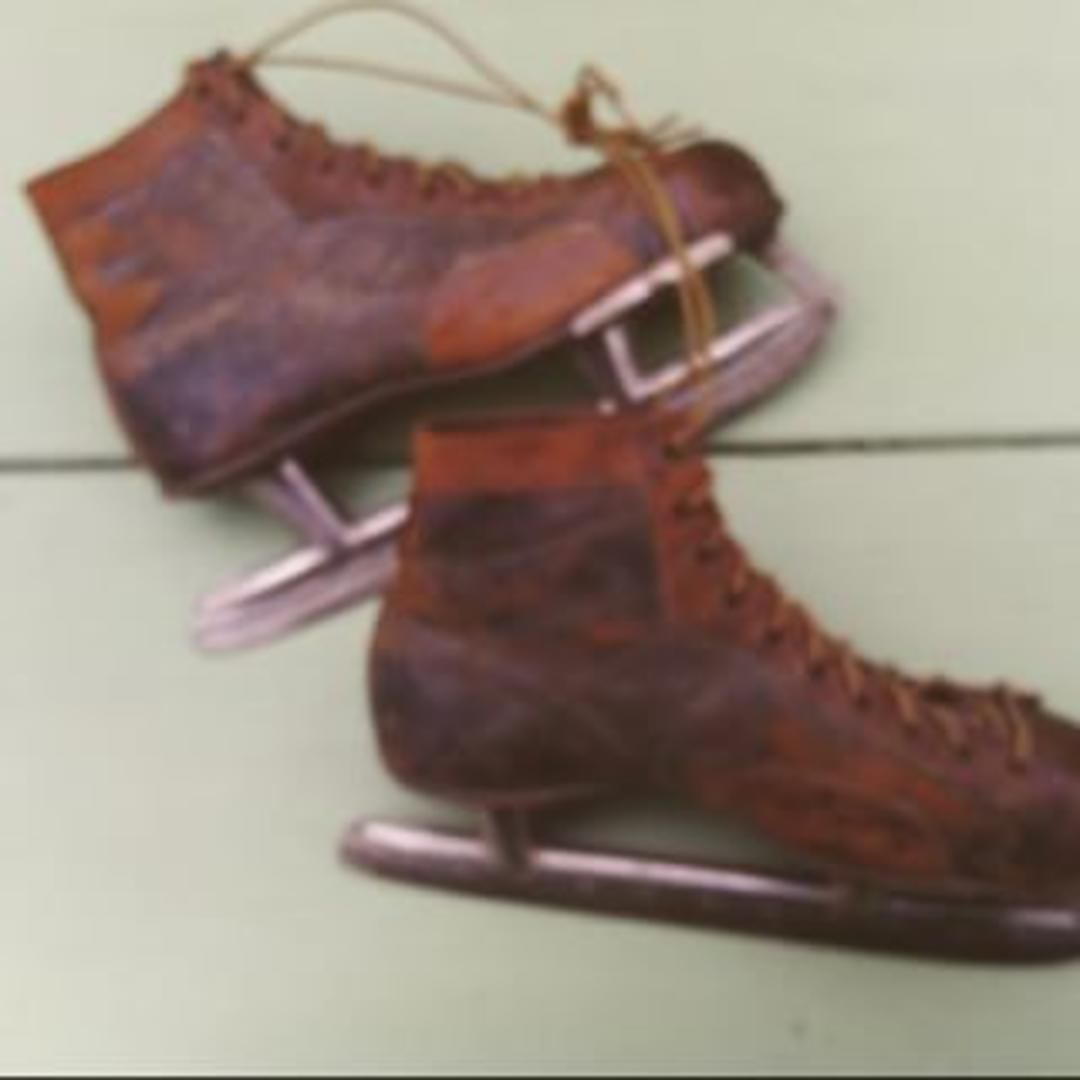 C.1900 Men's Ice Skates From Bentley's Vintage Furniture