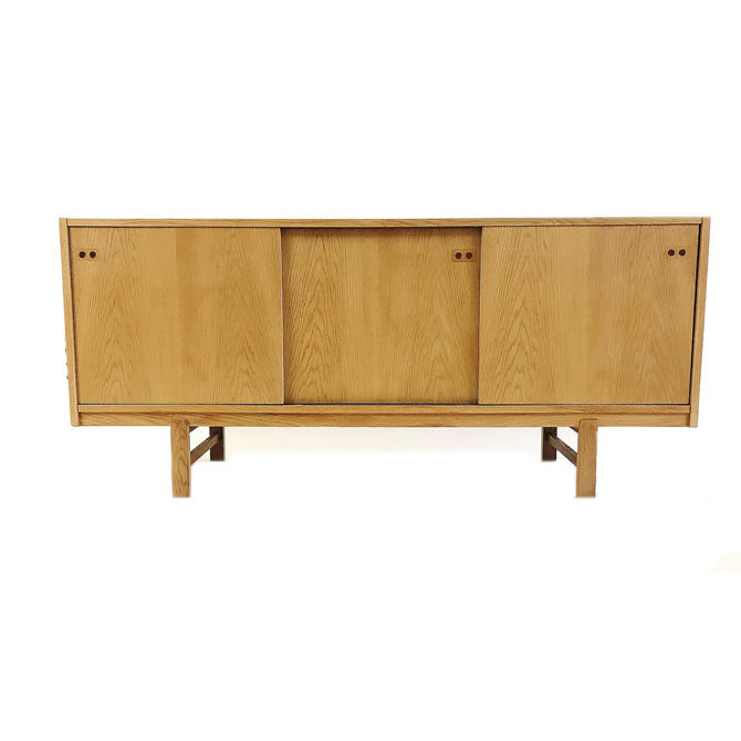 Vintage Danish Modern Credenza In White Oak by minthome