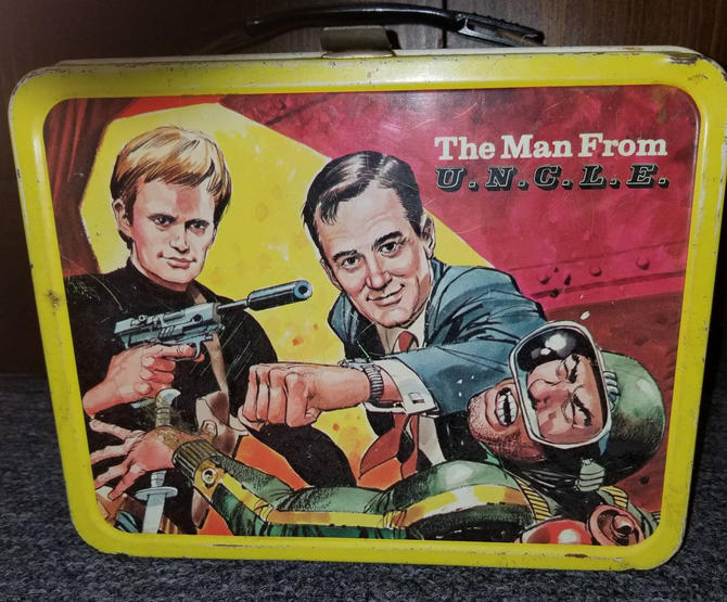 1966 Man From U.N.C L.E metal lunchbox by MOBvintage
