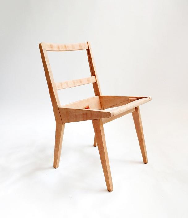 Authentic Jens Risom Side Chair by ModernMixPlus