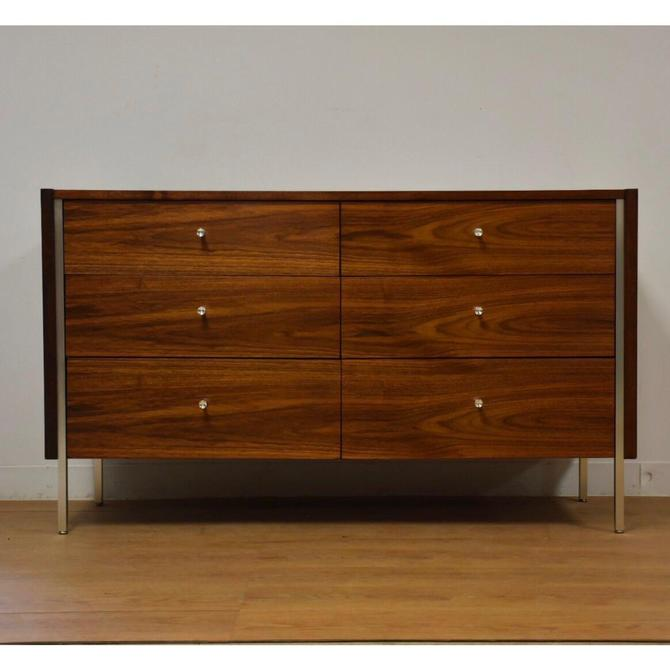 Walnut and Aluminum Dresser by Mengel by mixedmodern1