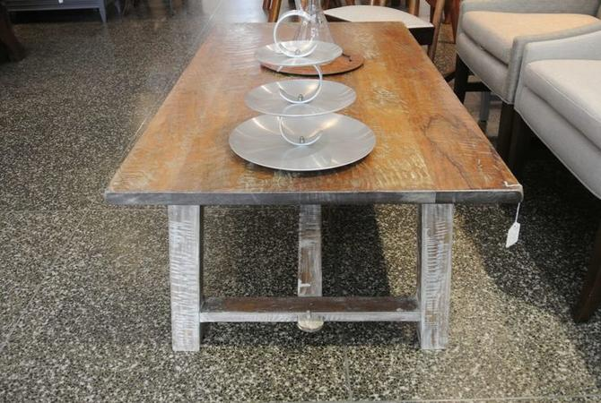 Shabby Chic Farm Style Coffee Table