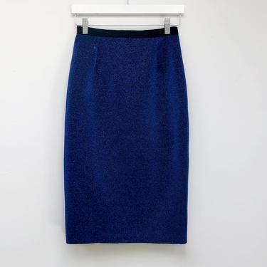 Metal blue Skirt by shopjoolee
