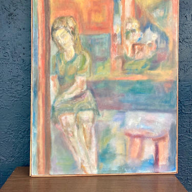 Portrait by San Antonio Artist Doris Lablanc