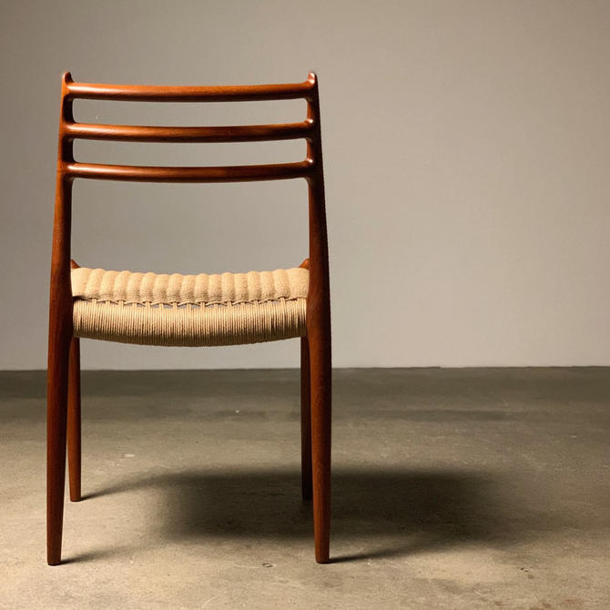 Set (4) Moller Model #78 Teak Dining Chairs by midcenTree