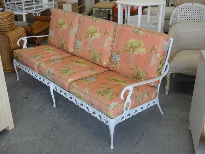 Palm Beach Regency Aluminum Sofa