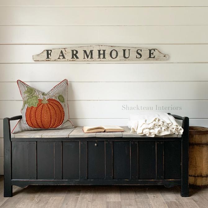 Vintage Farmhouse Bench