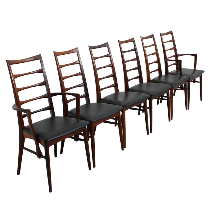 Set of 4  12+ Koefoeds Hornslet Danish Rosewood Dining Chairs