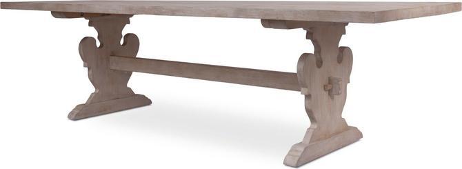 """Karin"" Farmhouse Dining Table by Bliss Studio"