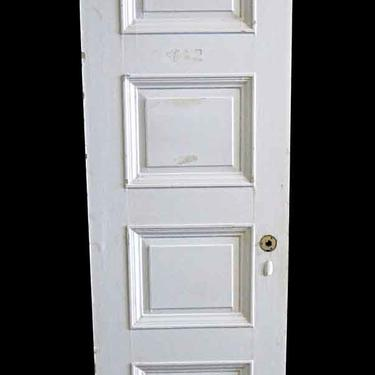 Antique Lamb's Club 4 Pane Wood Passage Door 82.75 x 25.75